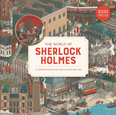 The The World of Sherlock Holmes 1000 Piece Puzzle: A Jigsaw Puzzle Cover Image
