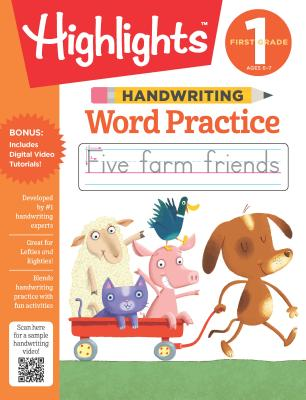 Handwriting: Word Practice (Highlights Handwriting Practice Pads) Cover Image