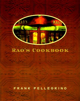 Rao's Cookbook Cover