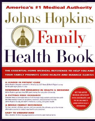 Cover for Johns Hopkins Family Health Book