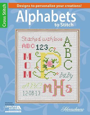 Alphabets to Stitch (Leisure Arts Cross Stitch) Cover Image