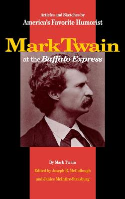 Mark Twain at the Buffalo Express Cover