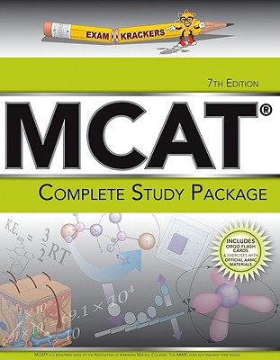 Examkrackers Complete MCAT Study Pkg: 5 Book Package Cover Image