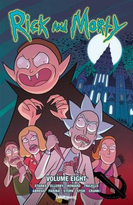 Rick and Morty Vol. 8 Cover Image