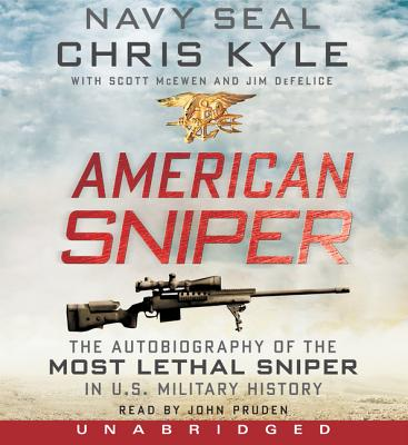 American Sniper CD: The Autobiography of the Most Lethal Sniper in U.S. Military History Cover Image