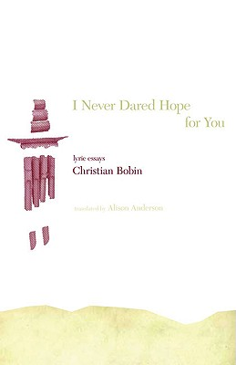 I Never Dared Hope for You Cover