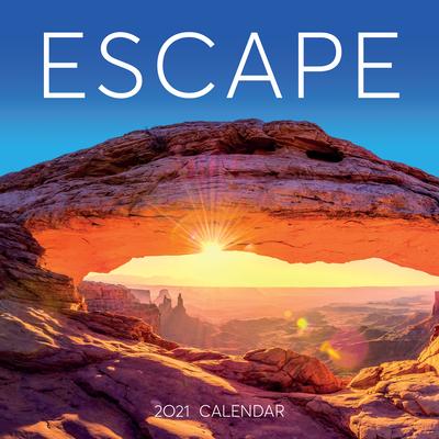 Escape Wall Calendar 2021 Cover Image