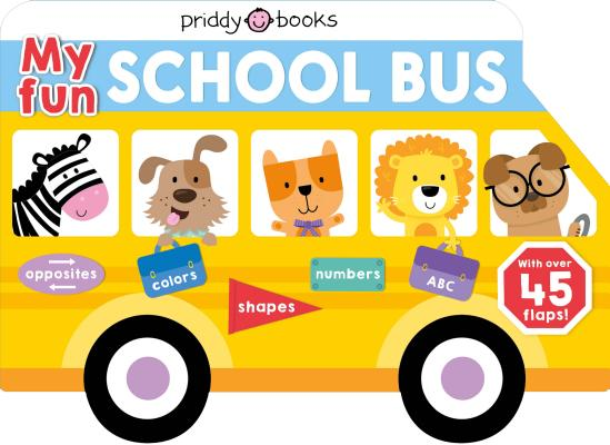 My Fun School Bus Lift-the-flap (Lift-the-Flap Tab Books) Cover Image