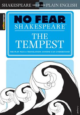 The Tempest (No Fear Shakespeare), 5 (Sparknotes No Fear Shakespeare #5) Cover Image