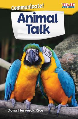 Communicate! Animal Talk (Exploring Reading) Cover Image