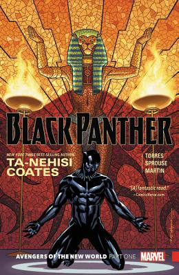 Black Panther Book 4: Avengers of the New World Book 1 Cover Image