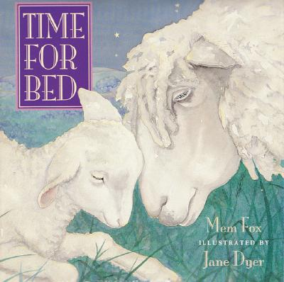 Time for Bed: Lap-Sized Board Book Cover Image