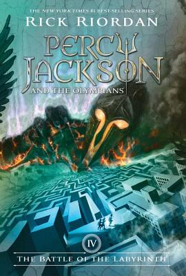Percy Jackson and the Olympians, Book Four The Battle of the Labyrinth (Percy Jackson & the Olympians #4) Cover Image