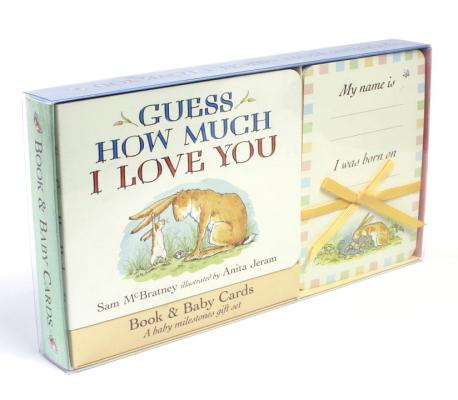 Guess How Much I Love You: Baby Milestone Moments: Board Book and Cards Gift Set Cover Image