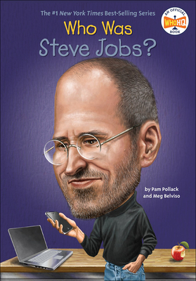 Cover for Who Was Steve Jobs? (Who Was...?)