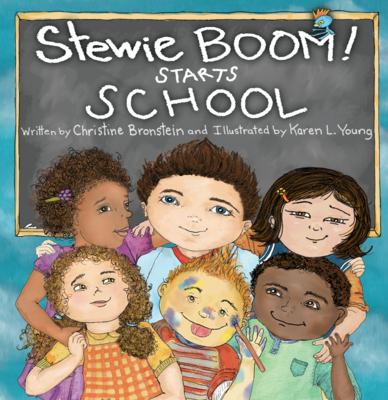 Stewie Boom! Starts School Cover