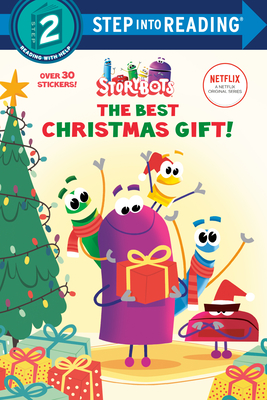 The Best Christmas Gift! (StoryBots) (Step into Reading) Cover Image