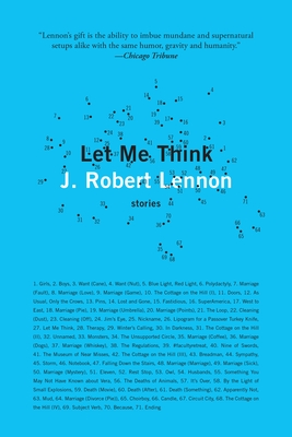 Cover for Let Me Think