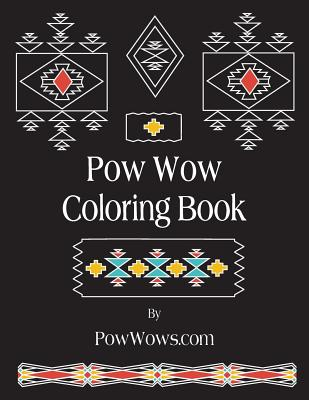 POW Wow Coloring Book Cover Image