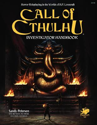 Investigator's Handbook (Call of Cthulhu Roleplaying) Cover Image