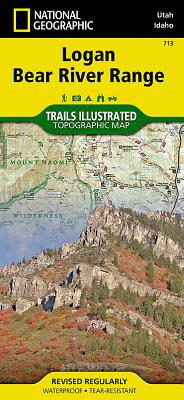 Logan, Bear River Range (National Geographic Trails Illustrated Map #713) Cover Image
