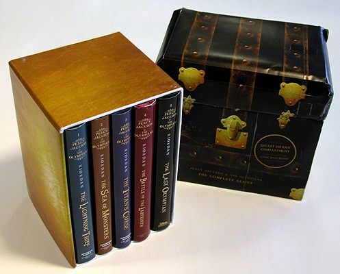 Percy Jackson and the Olympians Hardcover Boxed Set Cover