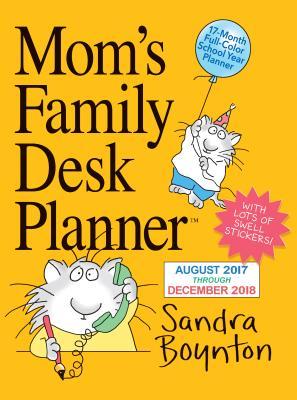 Cover for Mom's Family Desk Planner Calendar 2018