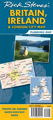 Rick Steves Britain, Ireland & London Planning Map Cover Image