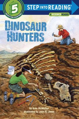 Dinosaur Hunters (Step into Reading) Cover Image