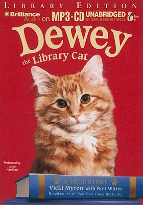 Dewey the Library Cat Cover Image