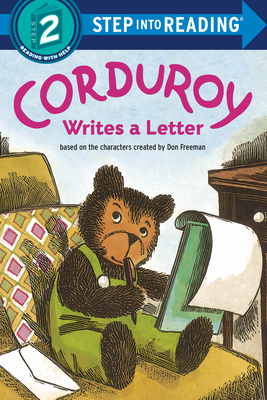 Corduroy Writes a Letter (Step into Reading) Cover Image