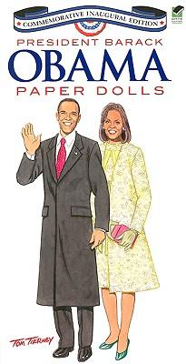 President Barack Obama Paper Dolls Cover