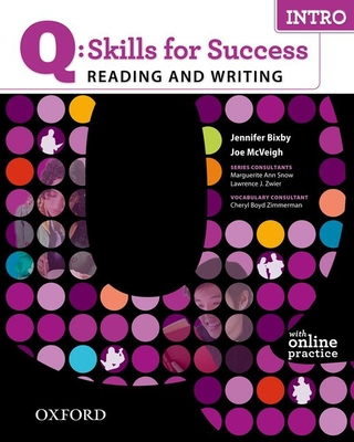 Q: Skills for Success Reading and Writing with Access Code Card, Intro Cover Image