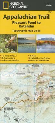 Appalachian Trail, Pleasant Pond to Katahdin [Maine] Cover Image