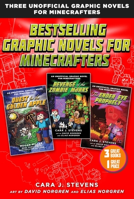 Cover for Bestselling Graphic Novels for Minecrafters (Box Set)