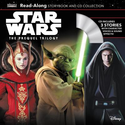 Star Wars The Prequel Trilogy Read-Along Storybook & CD Collection (Read-Along Storybook and CD) Cover Image