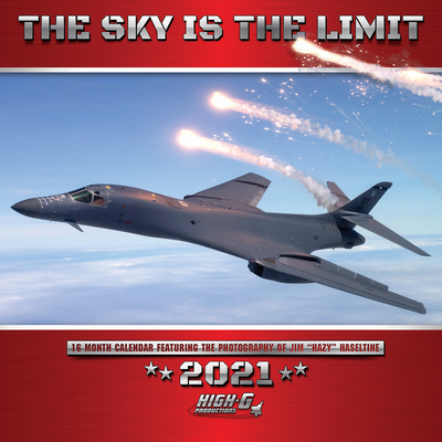 The Sky Is the Limit 2021 Wall Calendar Cover Image
