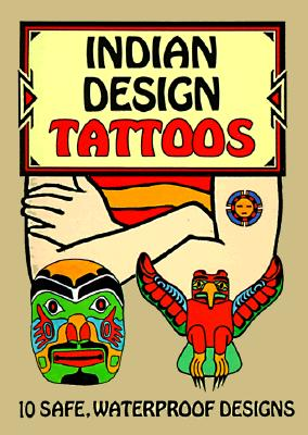 Indian Design Tattoos (Temporary Tattoos) Cover Image