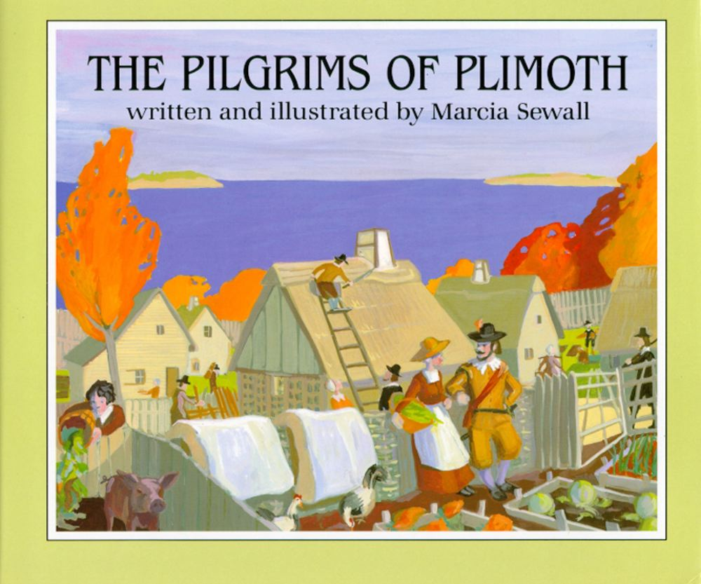 Cover for The Pilgrims of Plimoth