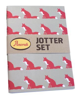 Anorak Proud Fox Jotter Set Cover Image