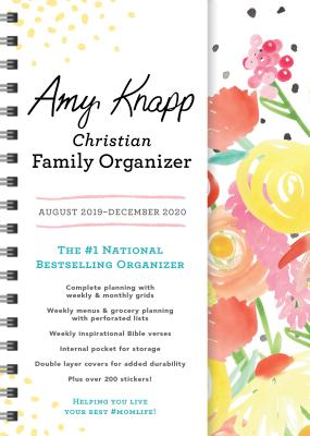 2020 Amy Knapp's Christian Family Organizer: August 2019-December 2020 Cover Image