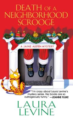 Death of a Neighborhood Scrooge (A Jaine Austen Mystery #16) Cover Image