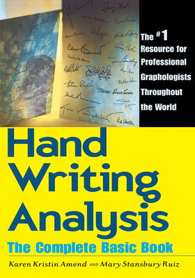 Handwriting Analysis: The Complete Basic Book Cover Image