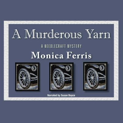 A Murderous Yarn Lib/E (Needlecraft Mysteries (Audio) #5) Cover Image