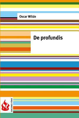 De profundis: (low cost). Edition limitada Cover Image