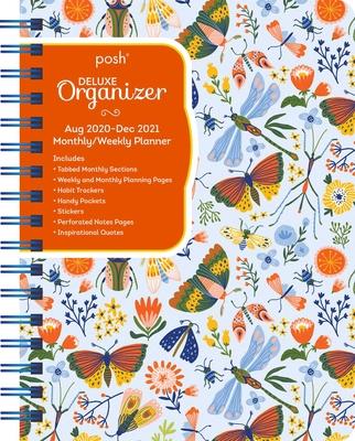 Posh: Deluxe Organizer 17-Month 2020-2021 Monthly/Weekly Planner Calendar: Garden Creatures Cover Image