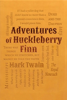 Adventures of Huckleberry Finn (Word Cloud Classics) Cover Image