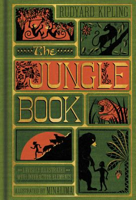 The Jungle Book (Illustrated with Interactive Elements) Cover Image