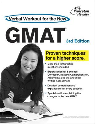 Verbal Workout for the New GMAT Cover
