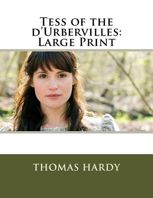 Tess of the d'Urbervilles: Large Print Cover Image